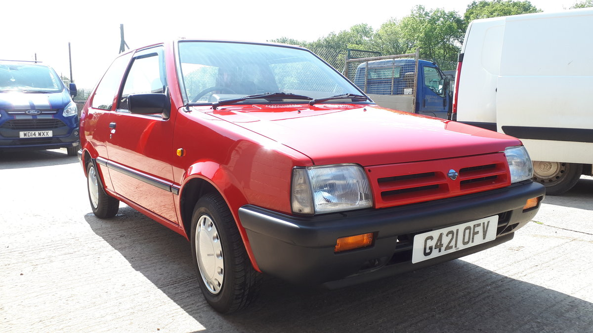 1990 Nissan Micra LS K10 For Sale (picture 1 of 6)