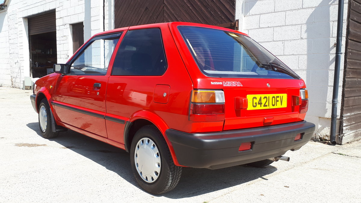 1990 Nissan Micra LS K10 For Sale (picture 3 of 6)