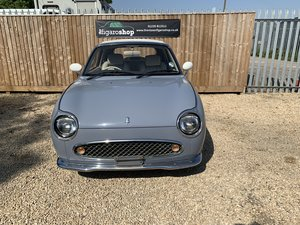 1991 Figaro Low Mileage Lapis Grey For Sale