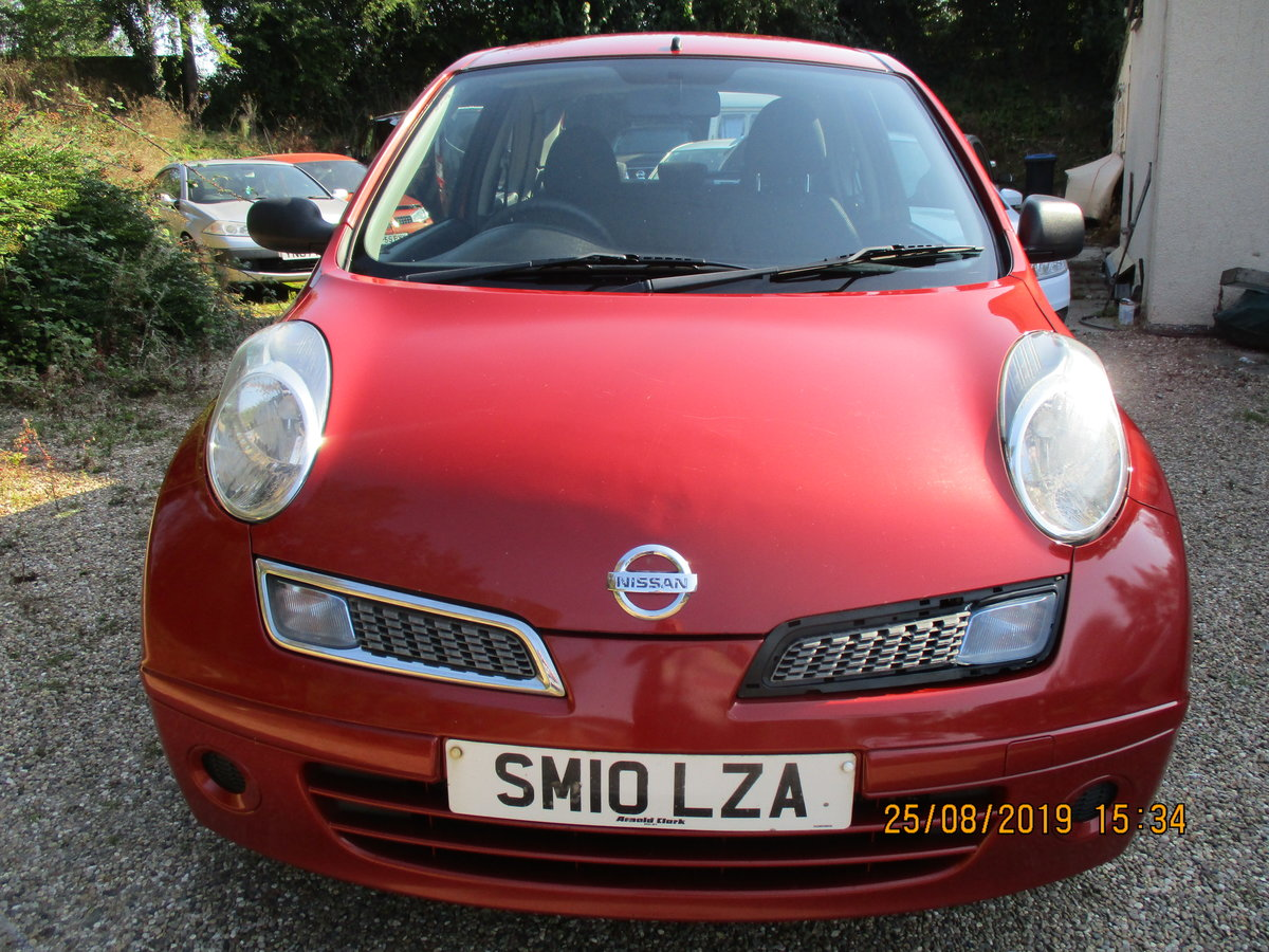 2010 SOUND DRIVER THIS MICRA PETROL 5 SP 3 DOOR A GOOD RUNAROUND For Sale (picture 1 of 6)
