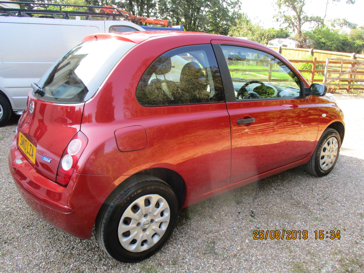 2010 SOUND DRIVER THIS MICRA PETROL 5 SP 3 DOOR A GOOD RUNAROUND For Sale (picture 2 of 6)