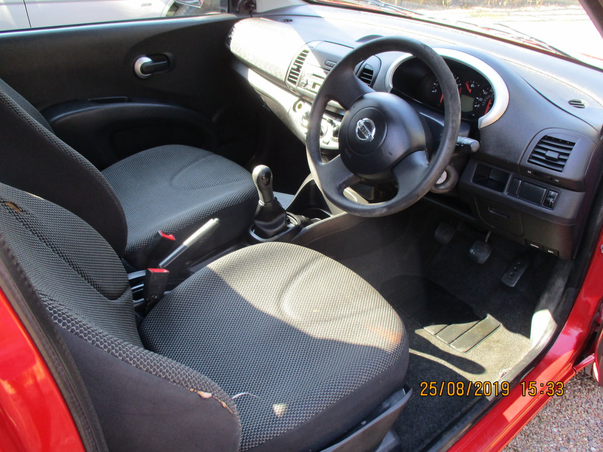 2010 SOUND DRIVER THIS MICRA PETROL 5 SP 3 DOOR A GOOD RUNAROUND For Sale (picture 5 of 6)