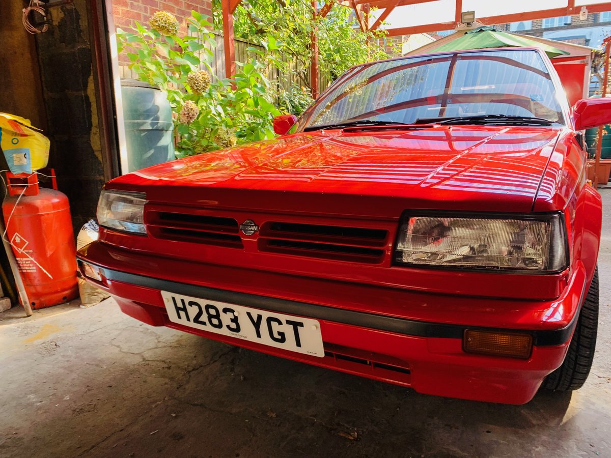 1990 Nissan Bluebird 2.0i GSX SOLD (picture 1 of 6)