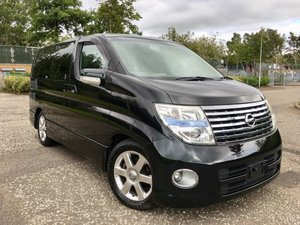 2006 FRESH IMPORT NISSAN ELGRAND HIGHWAY StAR AUTO 3.5 4WD