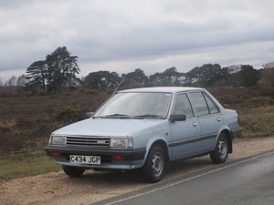 1986 Nissan Sunny SGL For Sale