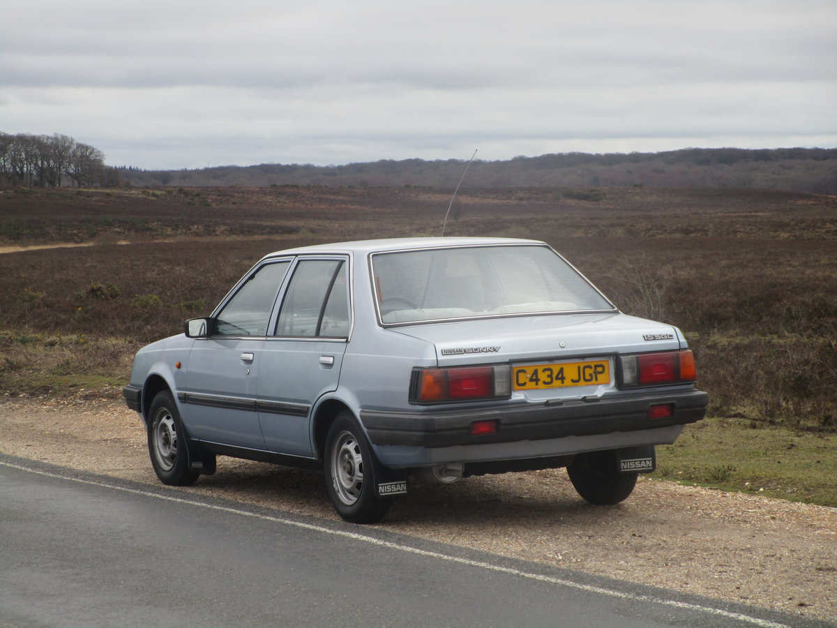 1986 Nissan Sunny SGL For Sale (picture 3 of 6)