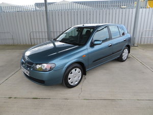 2003 Nissan Almera SE 1.8 Auto with 61,282 miles For Sale