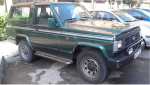 1992 Nissan Patrol 6 cylinders Top Green