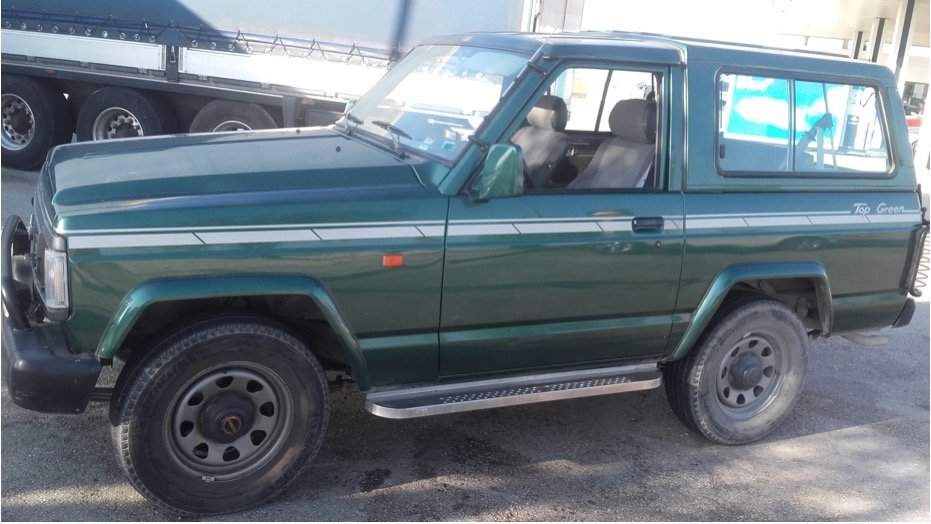 1992 Nissan Patrol 6 cylinders Top Green SOLD (picture 2 of 6)