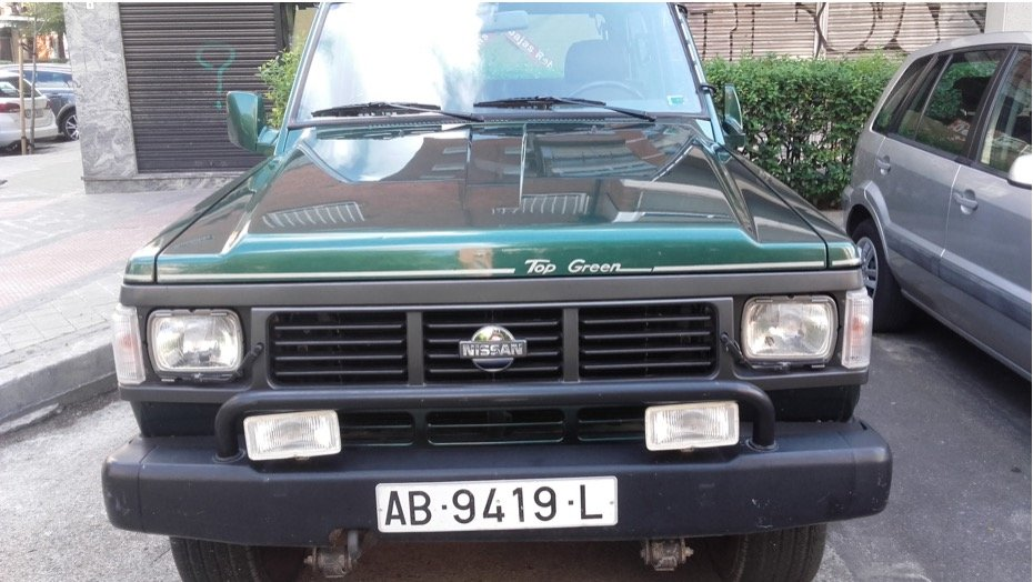 1992 Nissan Patrol 6 cylinders Top Green SOLD (picture 4 of 6)