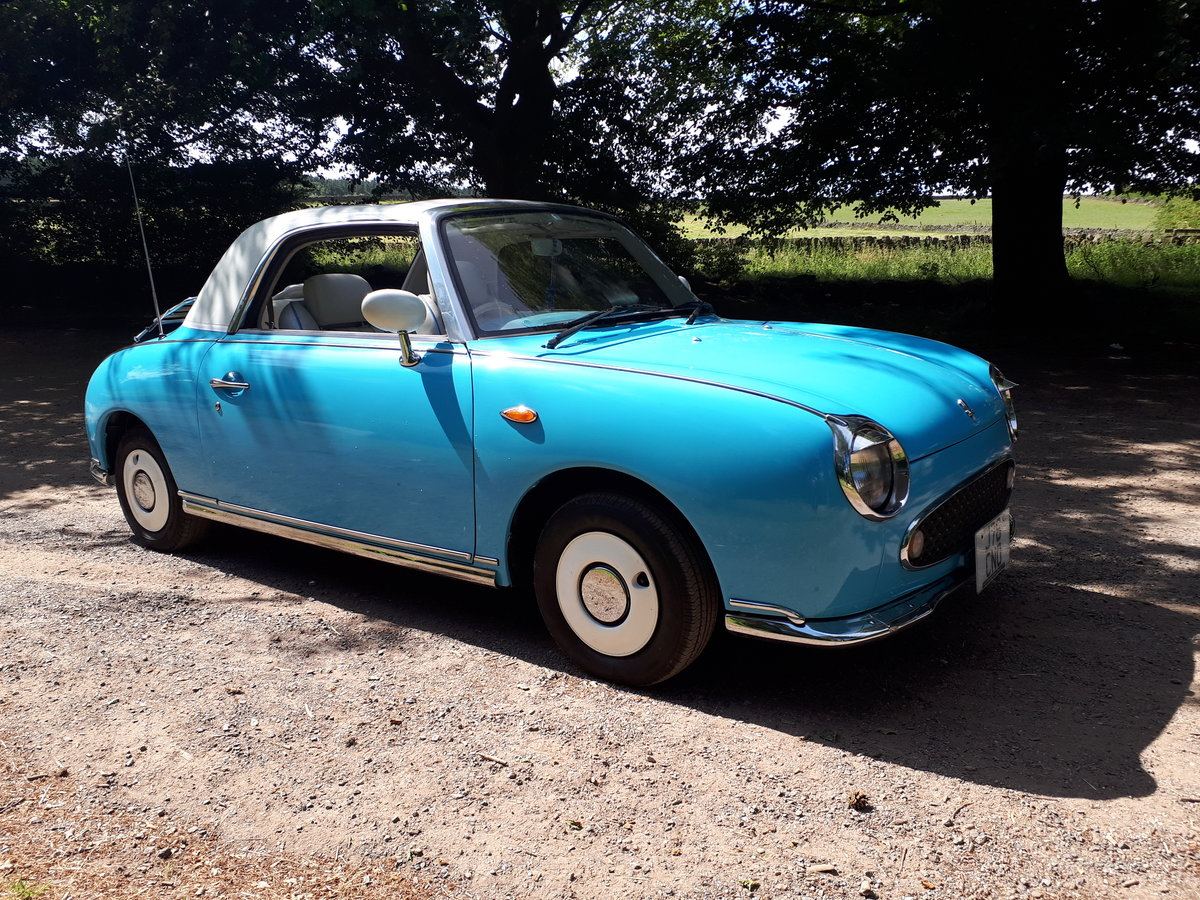 1991 FIGARO CONVERTIBLE 1.0 TURBO Auto IMMACULATE  For Sale (picture 3 of 6)