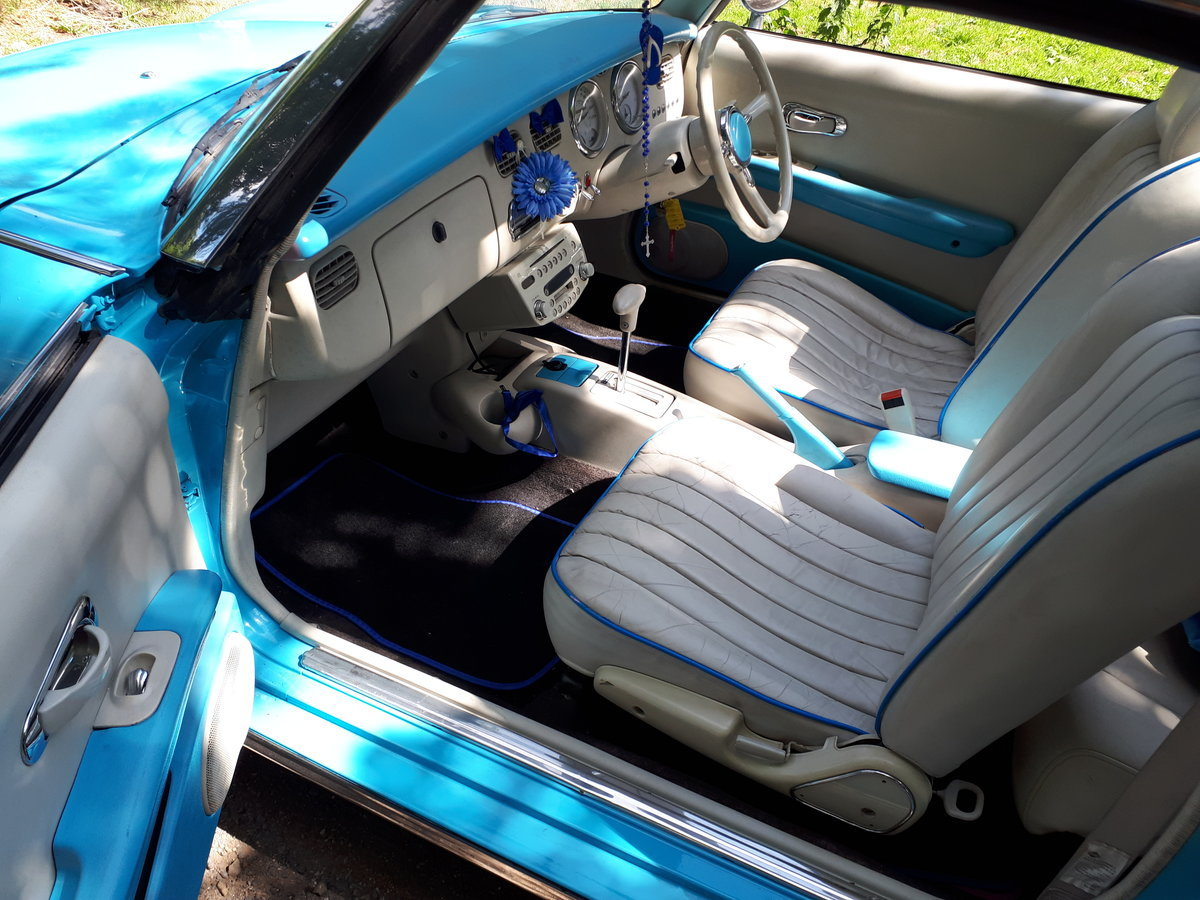 1991 FIGARO CONVERTIBLE 1.0 TURBO Auto IMMACULATE  For Sale (picture 6 of 6)