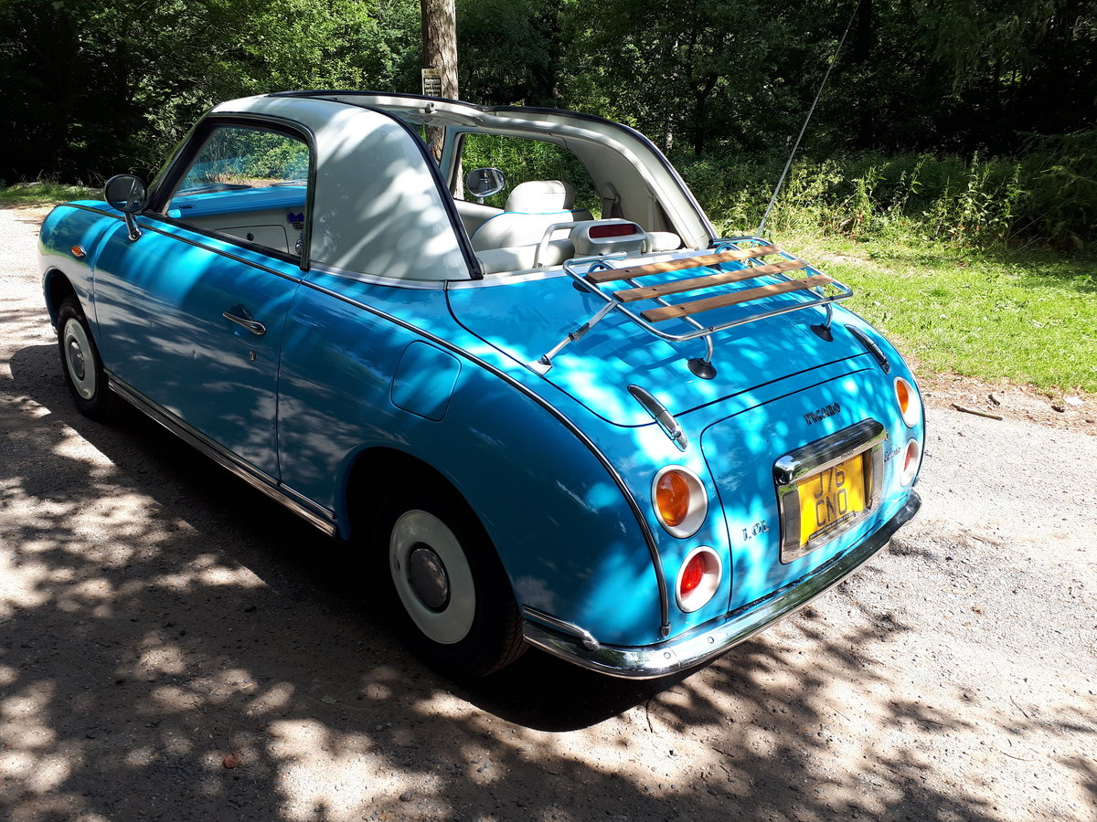 1991 FIGARO CONVERTIBLE 1.0 TURBO Auto IMMACULATE  For Sale (picture 5 of 6)