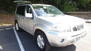 2005 NISSAN X TRAIL 2.2 DCI SVE 6 SPEED FSH Leather Nav For Sale