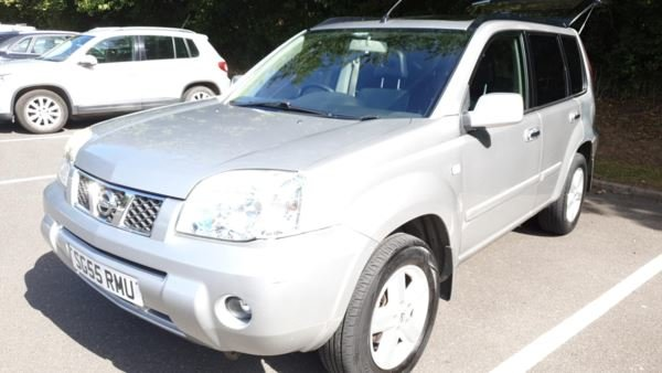 2005 NISSAN X TRAIL 2.2 DCI SVE 6 SPEED FSH Leather Nav For Sale (picture 2 of 6)