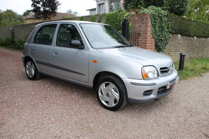 2001 Museum Quality Micra K11 1.4 SE 5 Door With Just 6k Miles SOLD