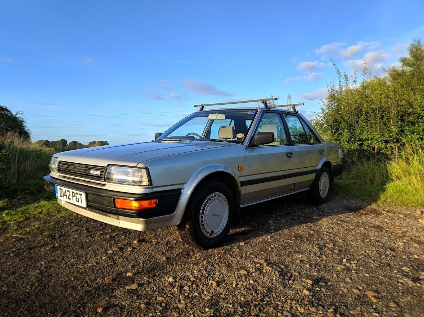 1987 Nissan Bluebird 1.8 LX For Sale (picture 1 of 6)