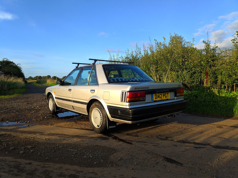 1987 Nissan Bluebird 1.8 LX For Sale (picture 2 of 6)