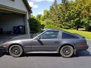 1986 Nissan 300zx Coupe T-Top Manual Grey 124k miles $6.5k For Sale