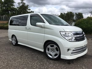 2008 FRESH IMPORT NISSAN ELGRAND RIDER 4WD AUTO 3.5 8 SEATS For Sale