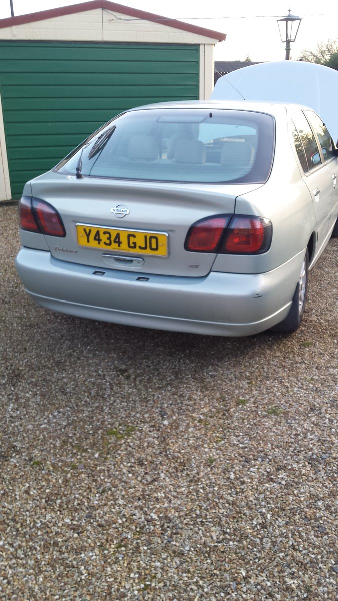 2001 Nissan Primera 1.8 SE For Sale (picture 2 of 6)