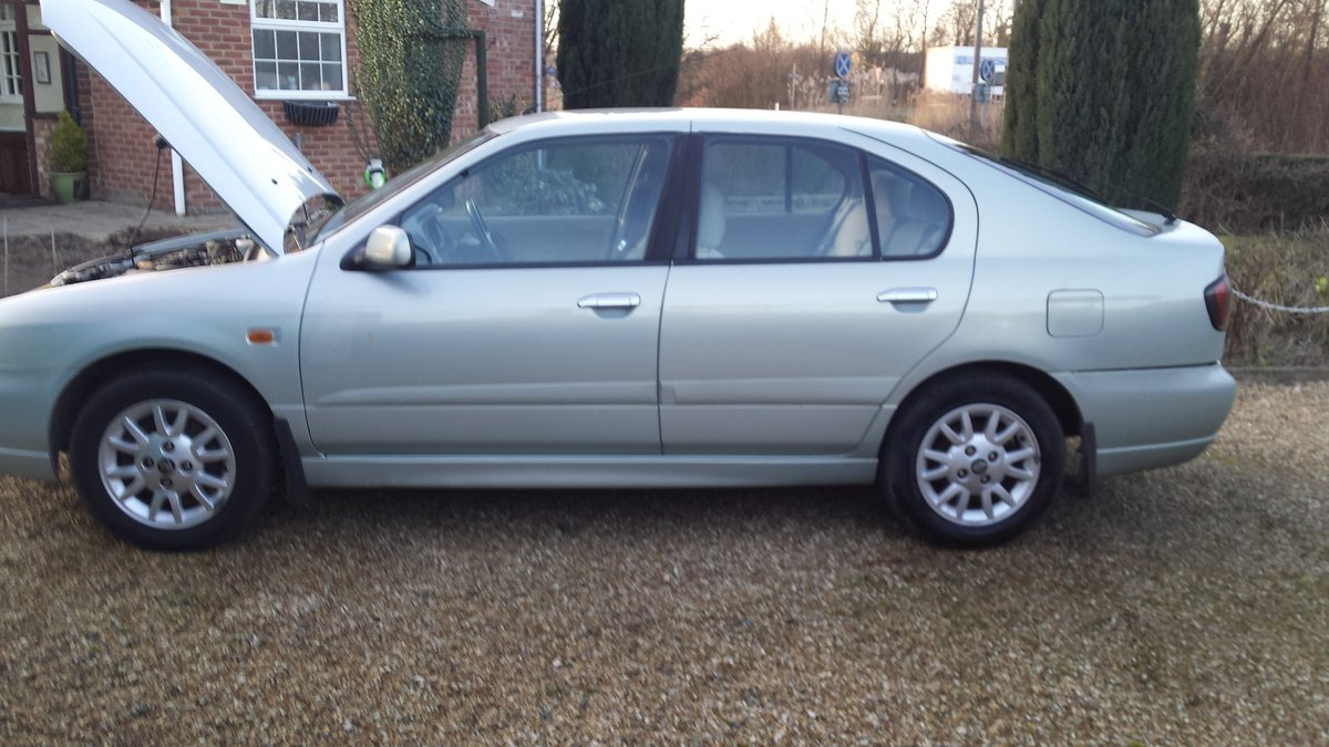 2001 Nissan Primera 1.8 SE For Sale (picture 4 of 6)