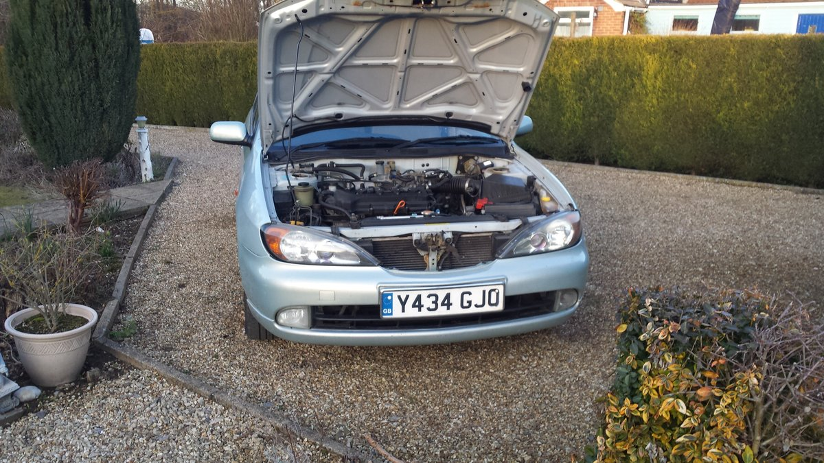 2001 Nissan Primera 1.8 SE For Sale (picture 6 of 6)