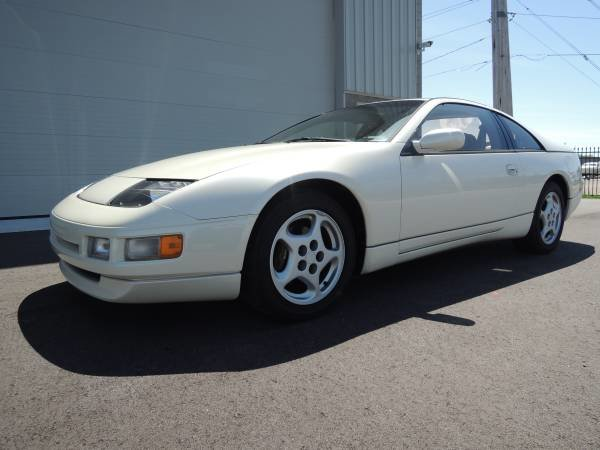 1990 Nissan 300ZX Coupe T-Tops clean Ivory(~)Tan Manual $8.  For Sale (picture 1 of 6)