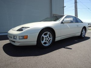 1990 Nissan 300ZX Coupe T-Tops clean Ivory(~)Tan Manual $8.