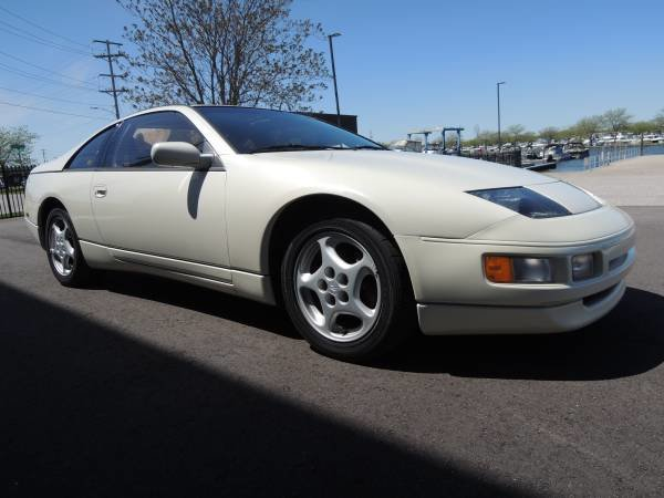 1990 Nissan 300ZX Coupe T-Tops clean Ivory(~)Tan Manual $8.  For Sale (picture 2 of 6)