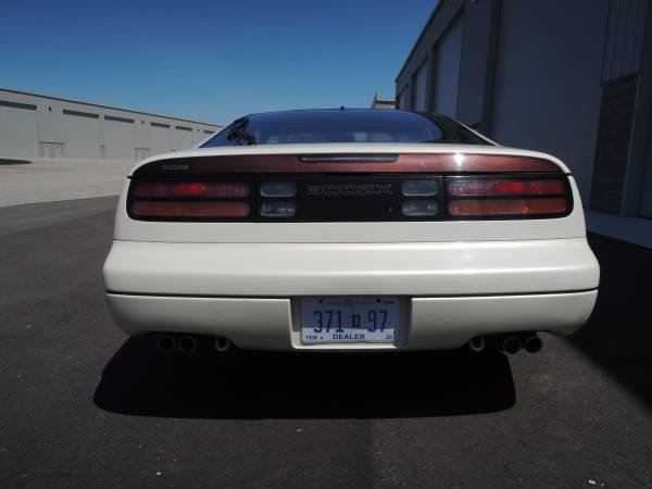 1990 Nissan 300ZX Coupe T-Tops clean Ivory(~)Tan Manual $8.  For Sale (picture 3 of 6)