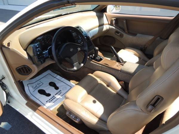 1990 Nissan 300ZX Coupe T-Tops clean Ivory(~)Tan Manual $8.  For Sale (picture 5 of 6)