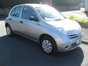 2007 07-reg Nissan Micra 1.2 16v Initia 5Dr manual in silver For Sale