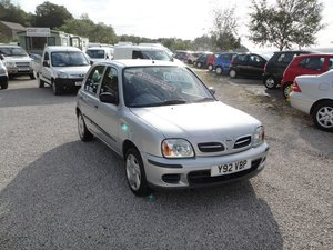 2001 NISSAN MICRA K11 1.4 SE AUTOMATIC. 60,000 MILES For Sale