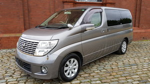 NISSAN ELGRAND 2008 3.5 AUTOMATIC 350 X 8 SEATER * CURTAINS