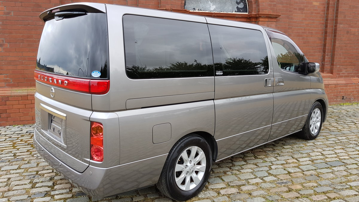NISSAN ELGRAND 2008 3.5 AUTOMATIC 350 X 8 SEATER * CURTAINS  For Sale (picture 2 of 6)