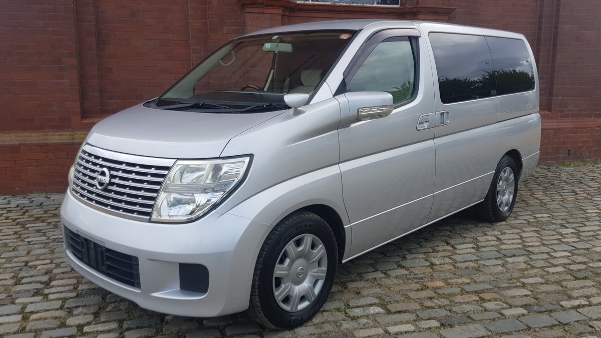 NISSAN ELGRAND 2008 2.5 AUTOMATIC 8 SEATER * CAMERA & POWER  For Sale (picture 1 of 6)