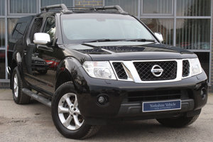 2014 64 NISSAN NAVARA 2.5 DCI TEKNA TWIN CAB- REAR CANOPY, NO VAT For Sale
