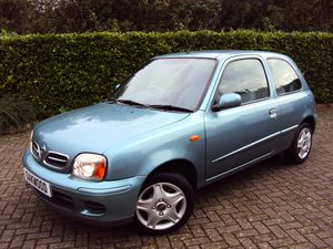 2002 A LOVELY Low Mileage Nissan Micra 1.0 Activ Family Owned!! For Sale