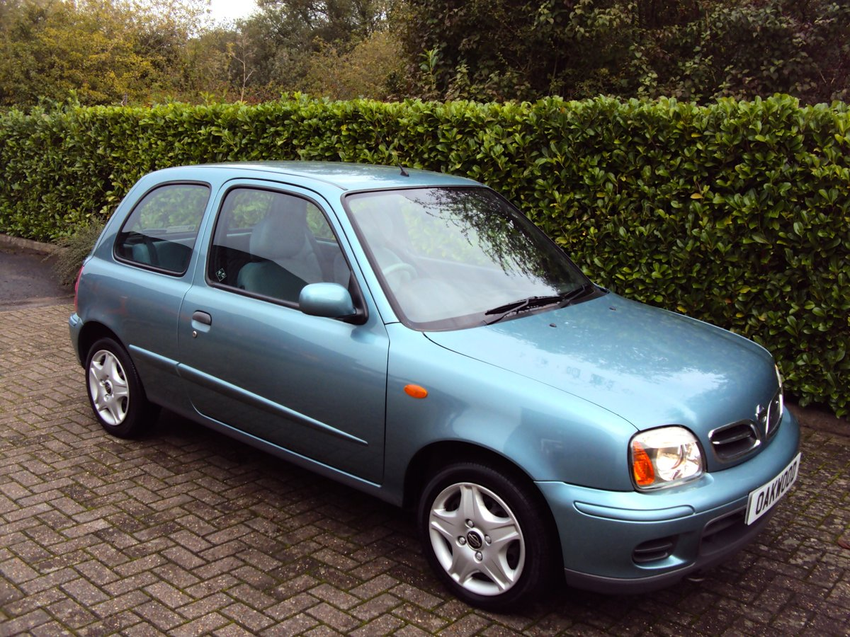 2002 NOW SOLD Low Mileage Nissan Micra 1.0 Activ Family Owned!! For Sale (picture 2 of 6)