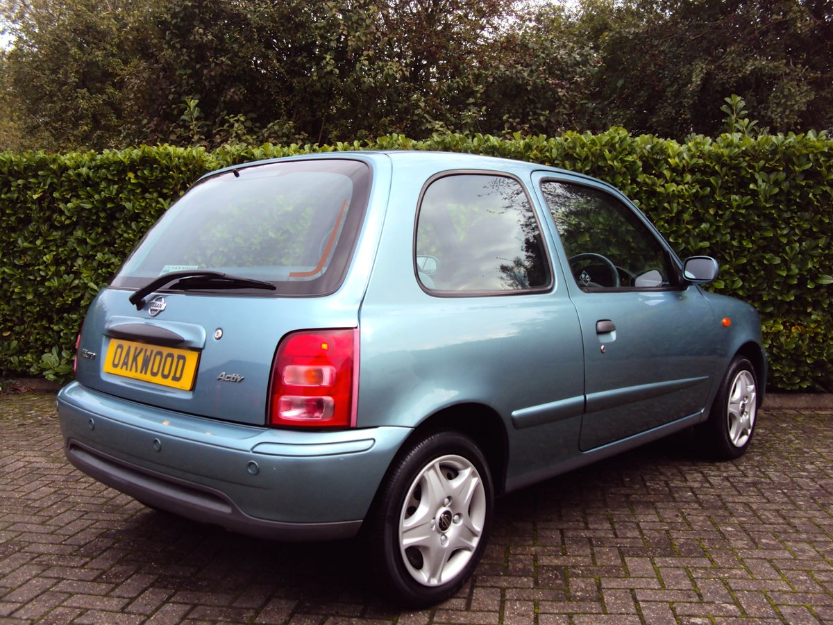 2002 NOW SOLD Low Mileage Nissan Micra 1.0 Activ Family Owned!! For Sale (picture 3 of 6)