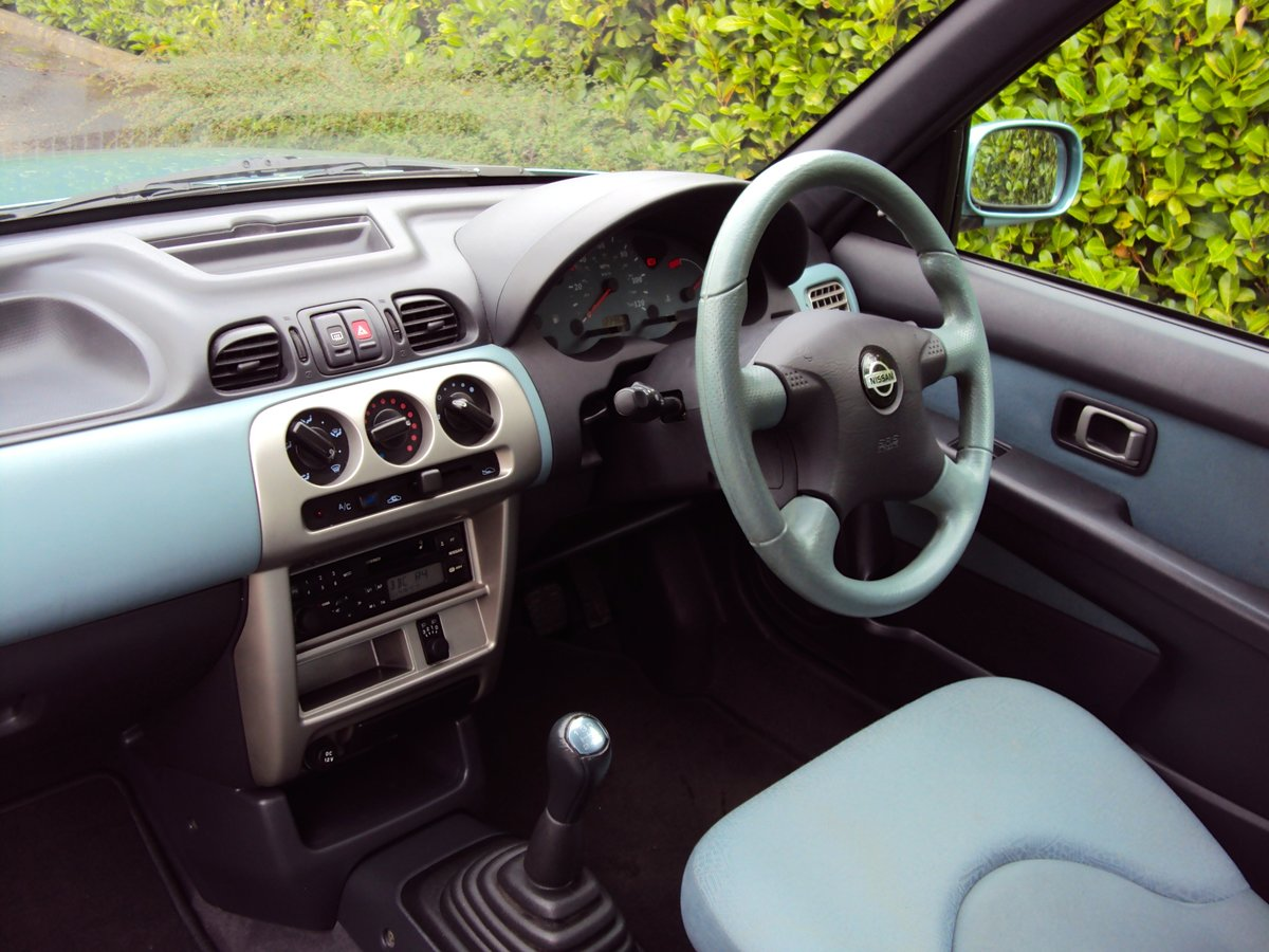 2002 NOW SOLD Low Mileage Nissan Micra 1.0 Activ Family Owned!! For Sale (picture 6 of 6)