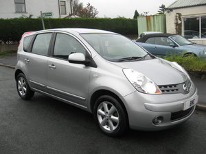 2007  57-reg Nissan Note 1.4 16v Acenta SE MPV Manual