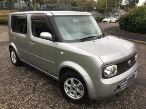 FRESH IMPORT 2008 FACE LIFT NISSAN CUBE CUBIC 1.5 AUTOMATIC