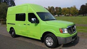 2012 2500 HD S 3dr Cargo Van w High Roof Sliding Door $13.9k