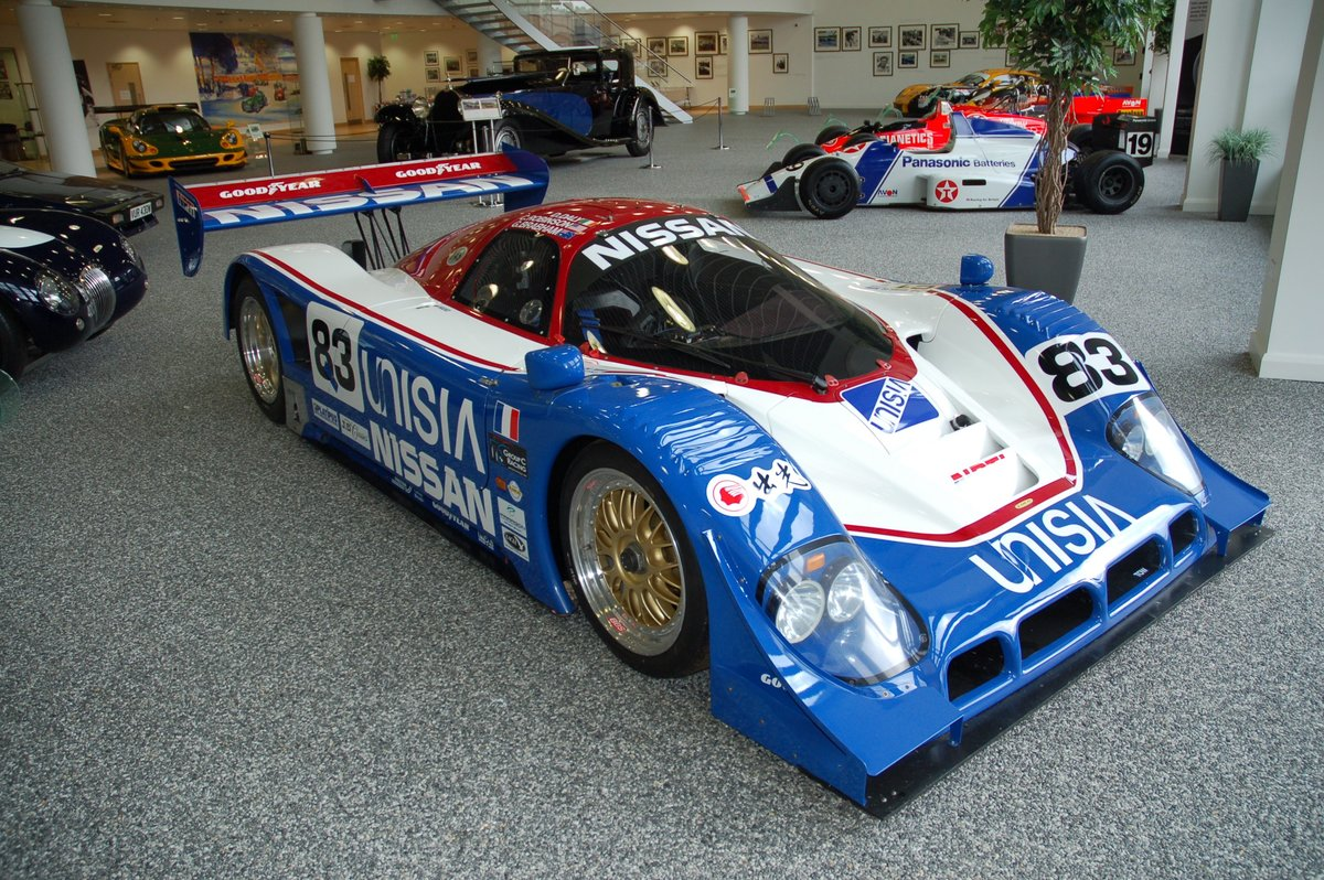 1990 Nissan R90 Group C Car Chassis No 5 For Sale (picture 1 of 7)