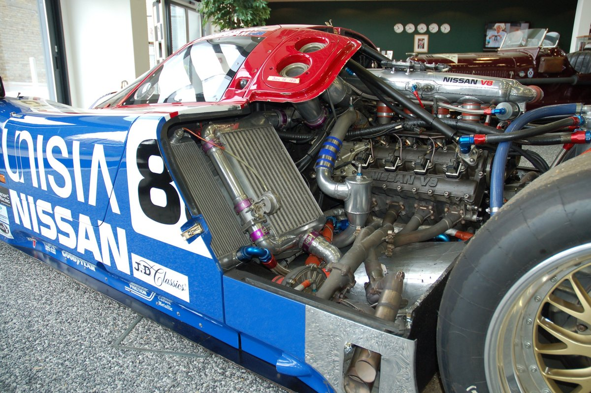 1990 Nissan R90 Group C Car Chassis No 5 For Sale (picture 5 of 7)