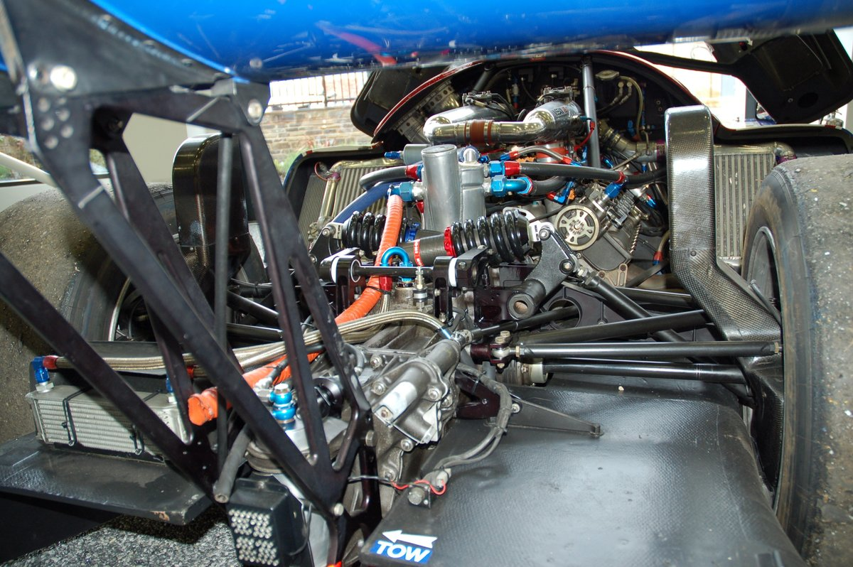 1990 Nissan R90 Group C Car Chassis No 5 For Sale (picture 7 of 7)
