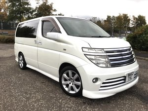 2003 NISSAN ELGRAND RIDER AUTO 3.5 8 SEATS LEATHER EDITION For Sale