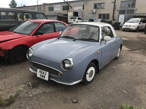 Nissan Figaro real JDM runs looks great